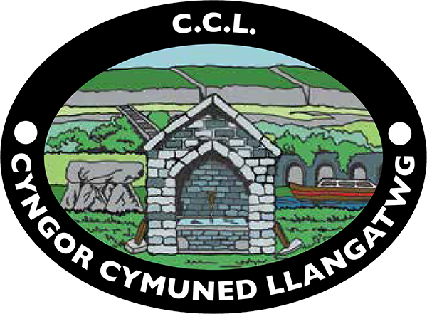 Llangattock Community Council Logo